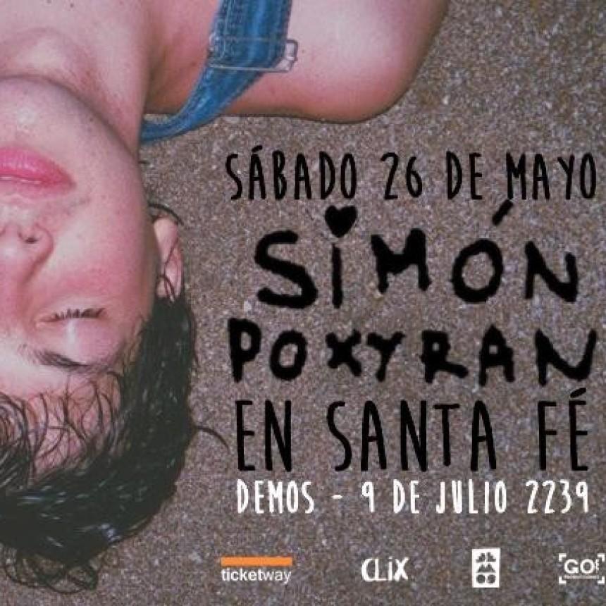 26/05 - SIMÓN POXYRAN  en SANTA FE