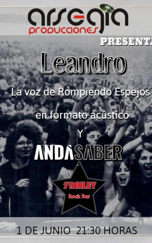 01/06 - Leandro, la voz de Rompiendo + Andá Saber