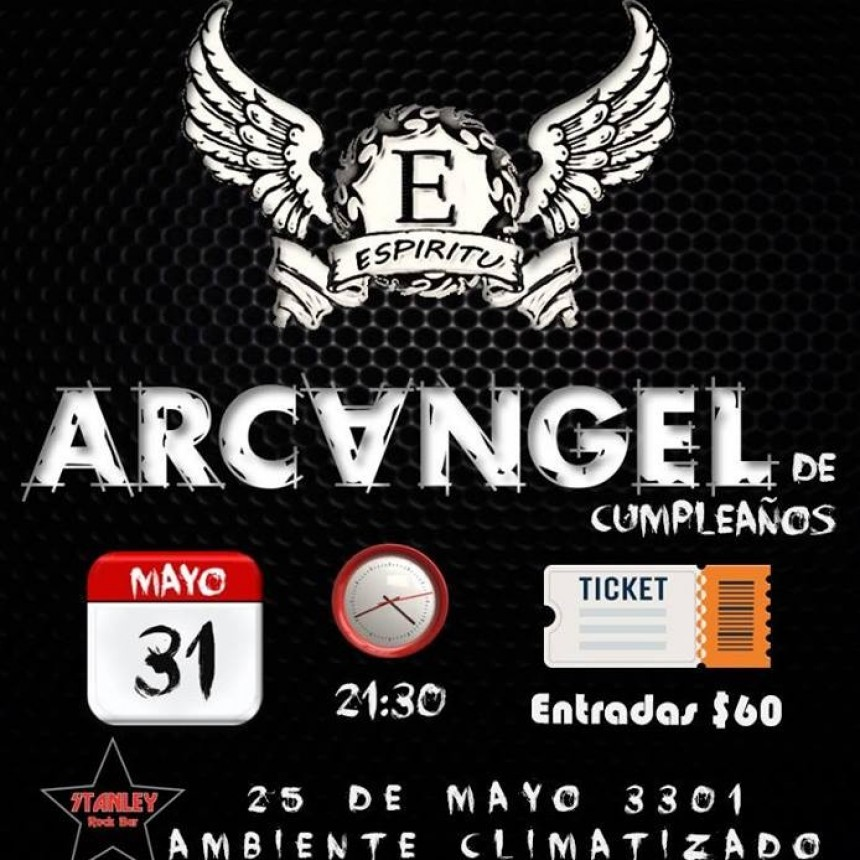 31/05 - Arcangel, Espíritu y Jam! De festejo!