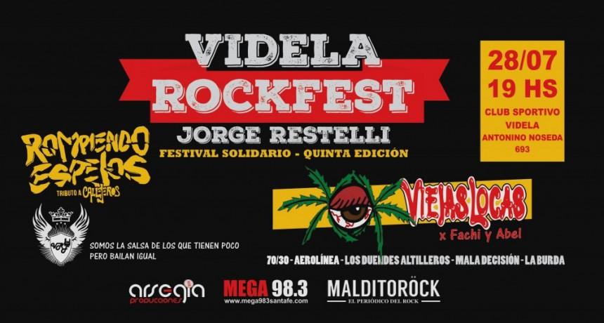 28/07 - VIDELA ROCK FEST 5ta Edición