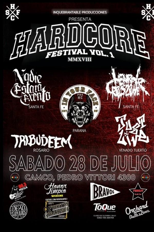 28/7 - Hardcore Festival VOL.1