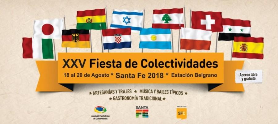 XXV Fiesta de las Colectividades de Santa Fe
