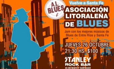 26/10 - Vuelve la A.L.Blues a Santa Fe