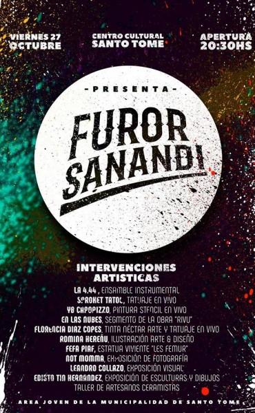 27/10 - FUROR SANANDI en ENSAYO DE SALA en SANTOTO