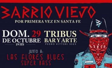 29/10 - Barrio Viejo por primera vez en Santa Fe junto a LFB Y SuperBass