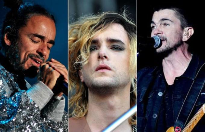 Benito Cerati, Juanes y Café Tacuba homenajearon a Soda Stereo