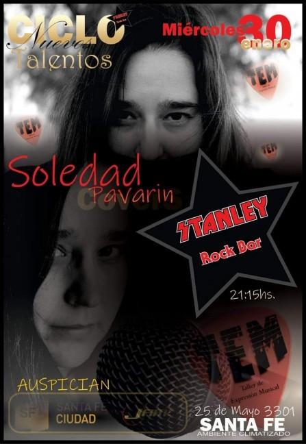 30/1 - Ciclo Nuevos Talentos: SOLEDAD PAVARIN