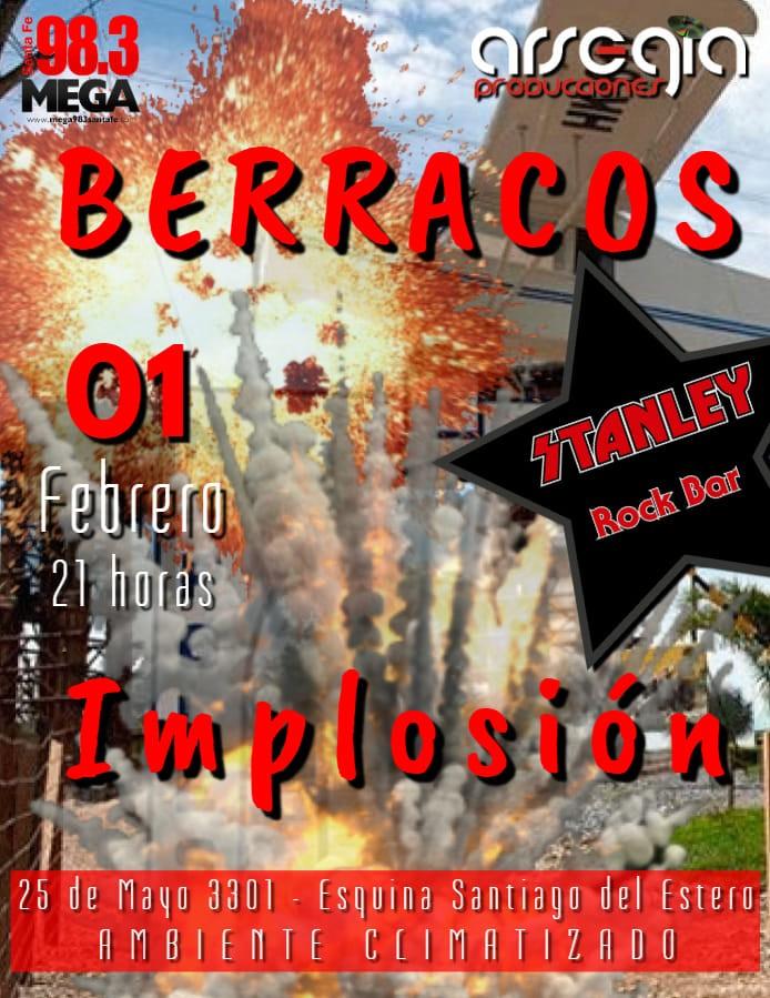 1/2 - BERRACOS + IMPLOSIÓN en Stanley