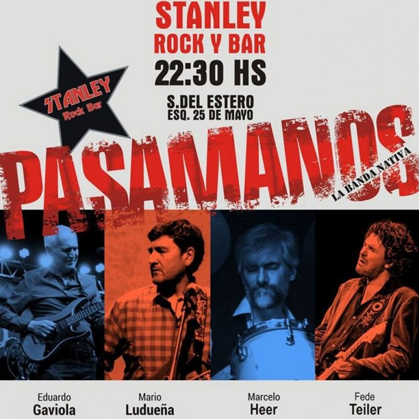 9/2 - PASAMANOS en Stanley