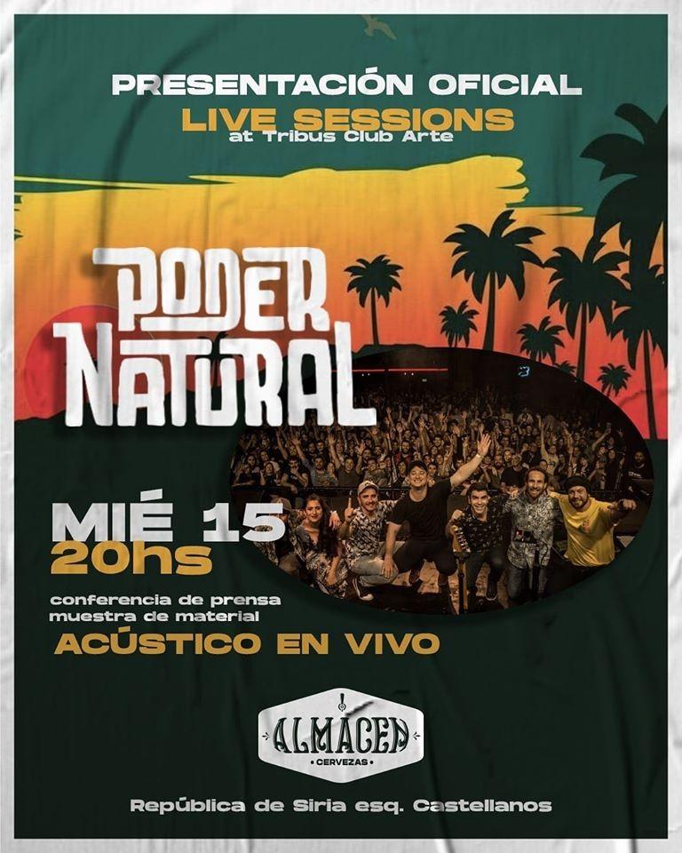 15/1 - Poder Natural presenta DVD