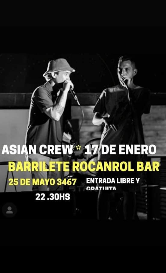 17/1 - ASIAN CREW en Barrilete