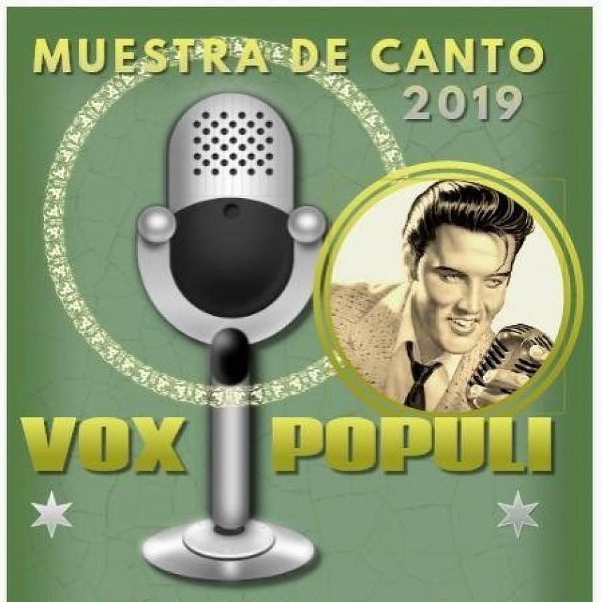 5/1 - Muestra de canto - VOX POPULI