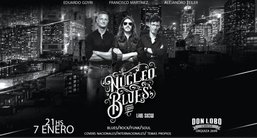 7/1 - Núcleo Blues Trío En Don Lobo