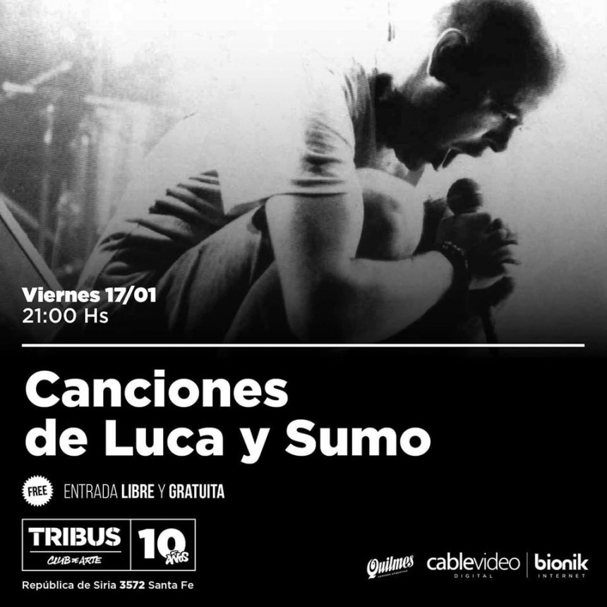 17/1 - Canciones de Luca y Sumo