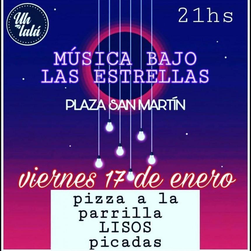 17/1 - Musica al aire libre con Nico Barrios