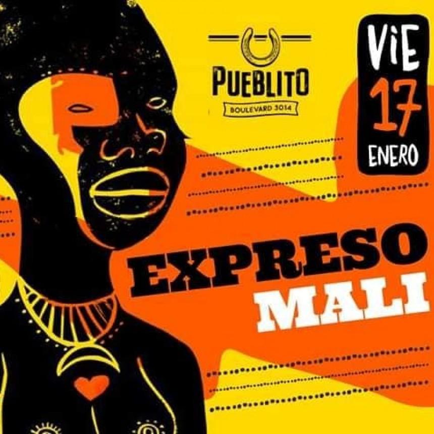 17/1 - Expreso Malí en Pueblito
