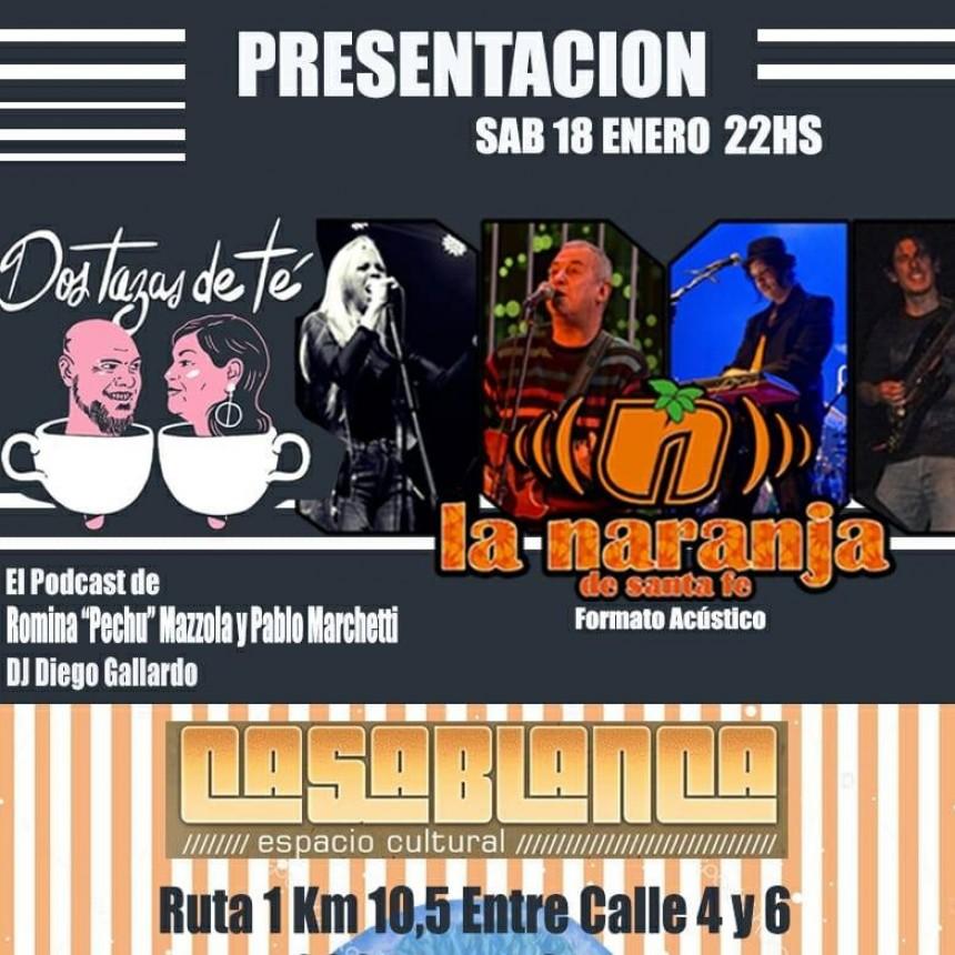 18/1 - Dos tazas de té + La Naranja en Casablanca