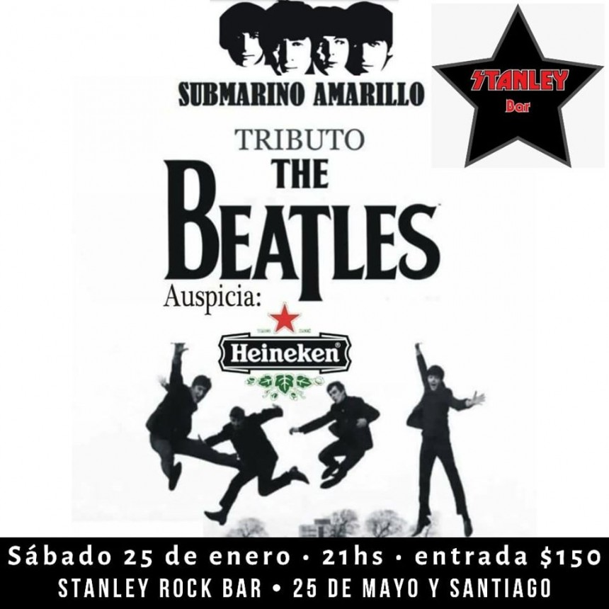 25/1 - TRIBUTO BEATLE en Stanley Bar