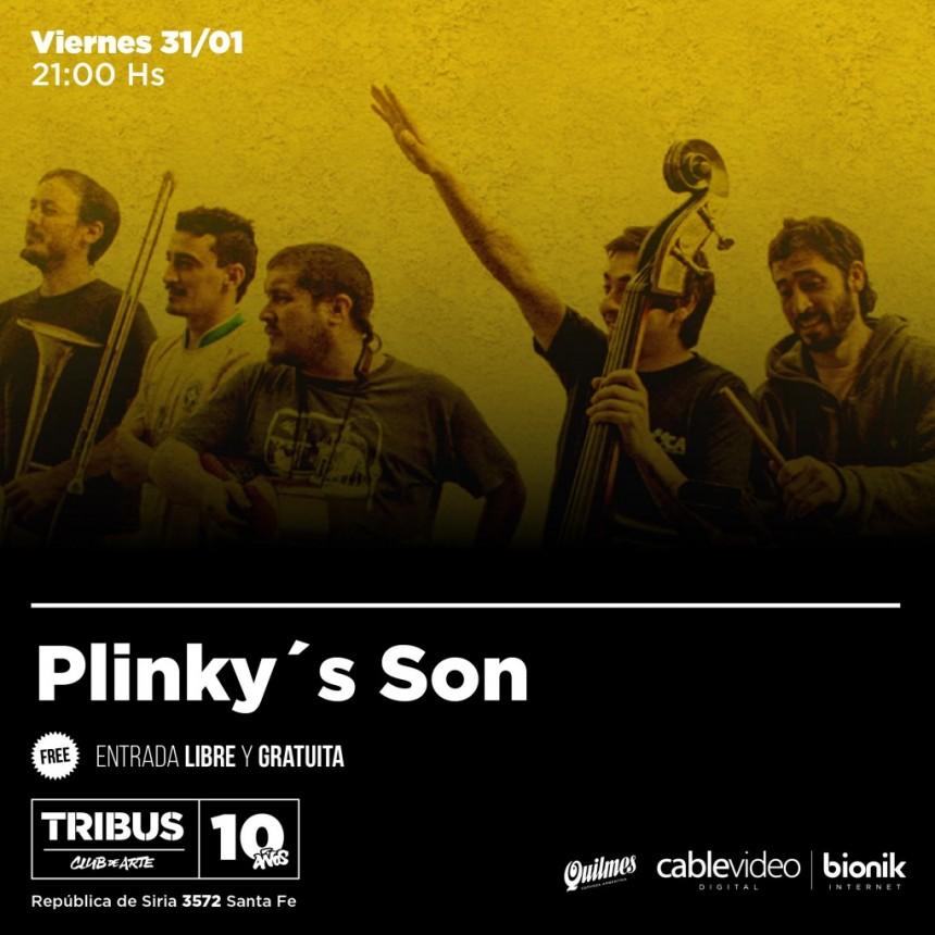 31/1 - Plinky's Son en Tribus