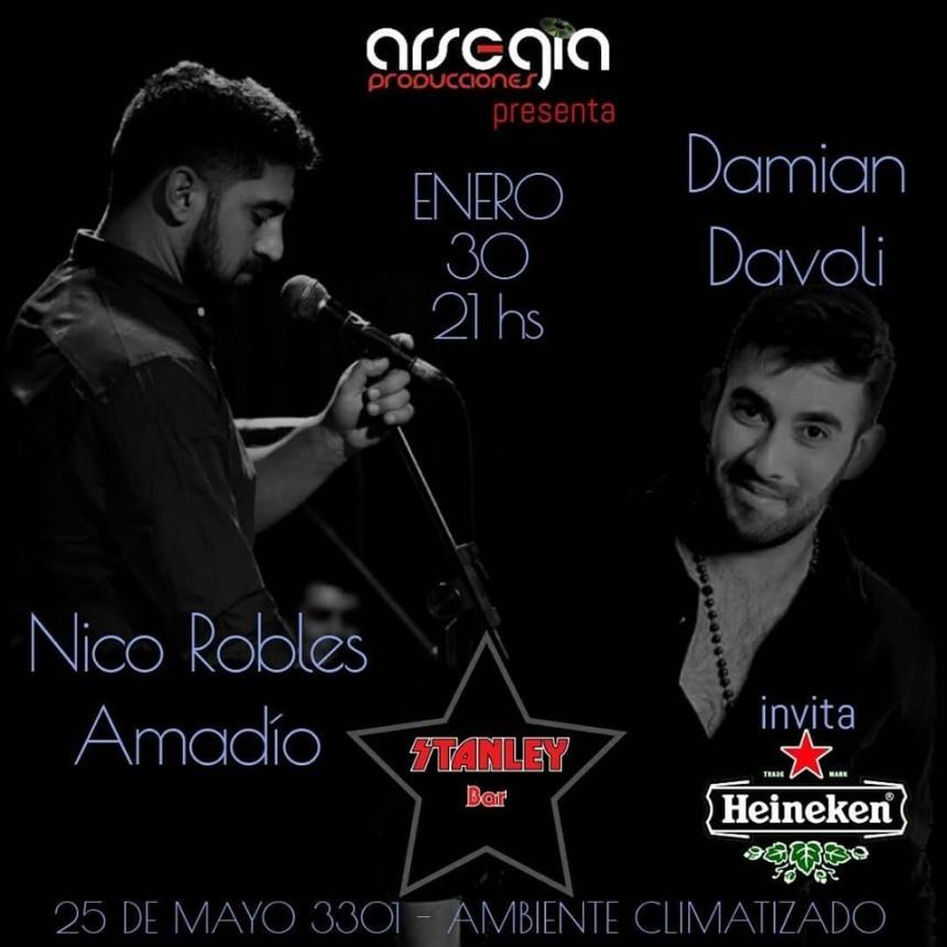 30/1 - Nico Robles Amadío y Damián Davoli en Stanley