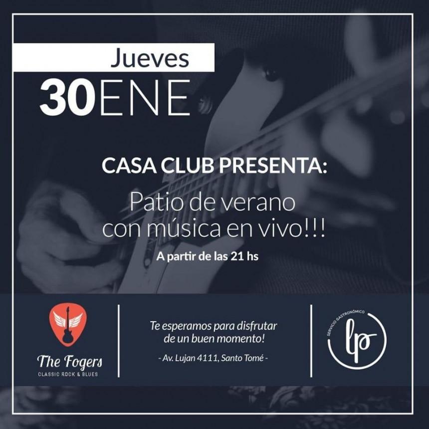 30/1 - THE FOGERS en Santoto