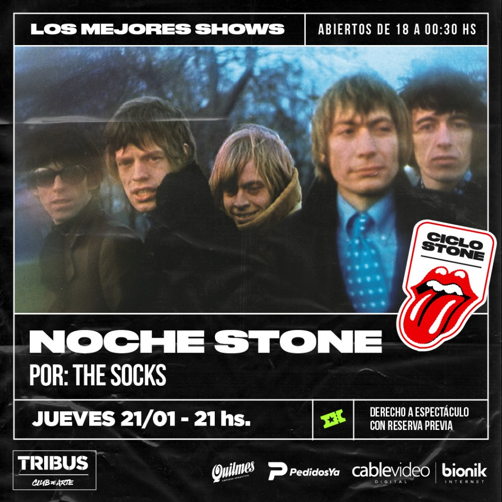 21/1 - Tributo a The Rolling Stone en Tribus