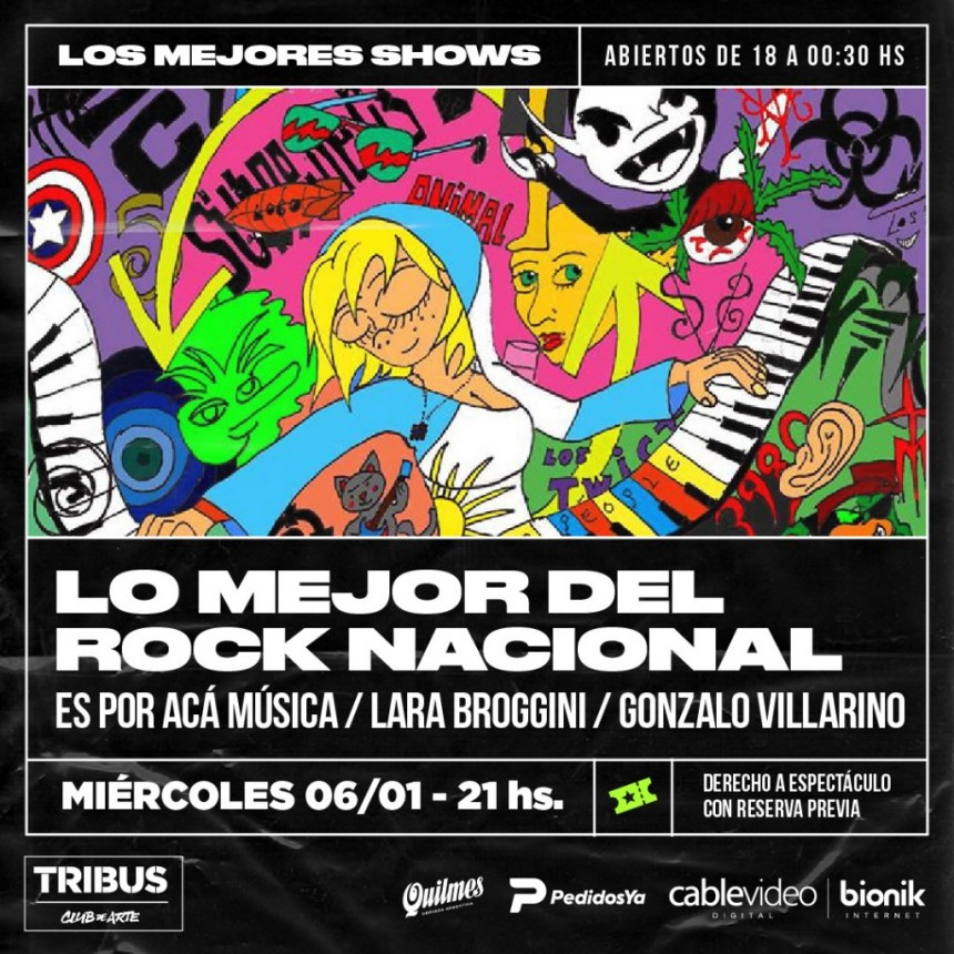 6/1 _ LO MEJOR DEL ROCK NACIONAL