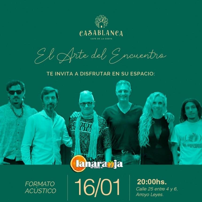 16/1 - La Naranja en Casablanca