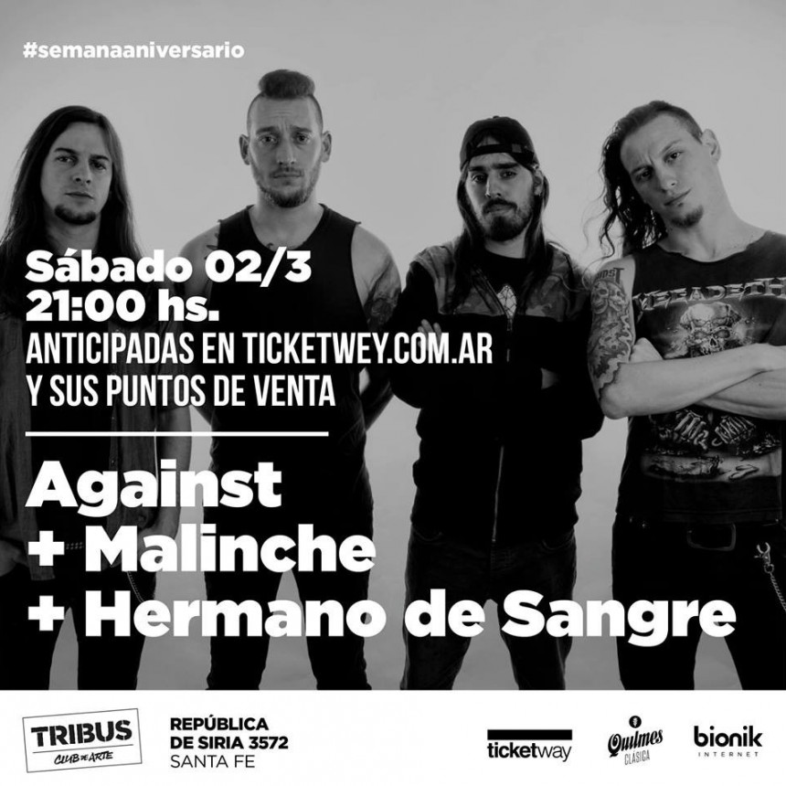 2/3 - Against Malinche Hermano de Sangre │ Semana Aniversario