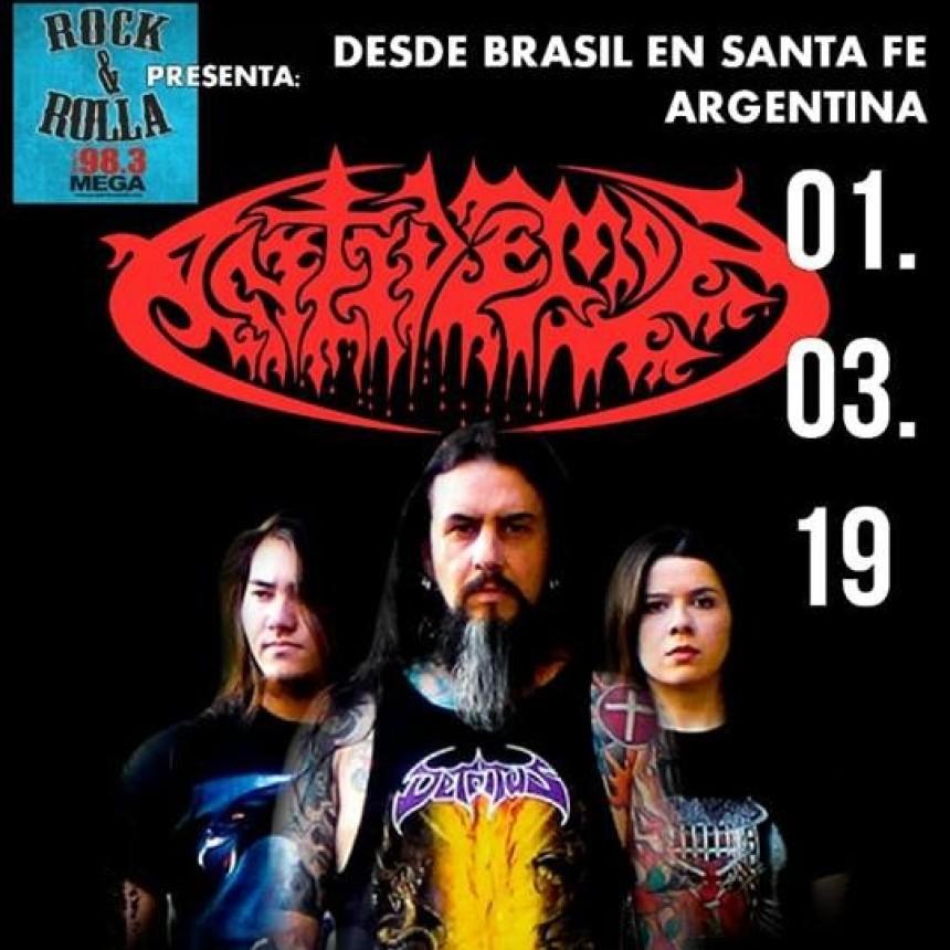 1/3 - Antidemon en Santa fe - 25 YEARS WORLD TOUR