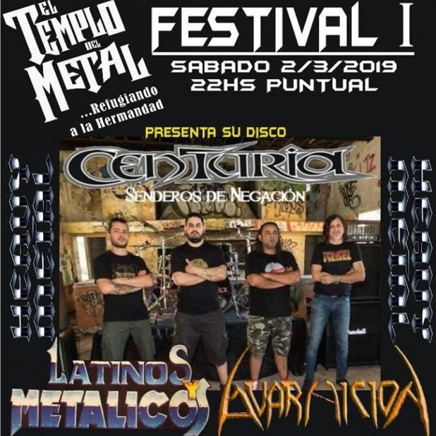 2/3 - El Templo Del Metal Festival 1