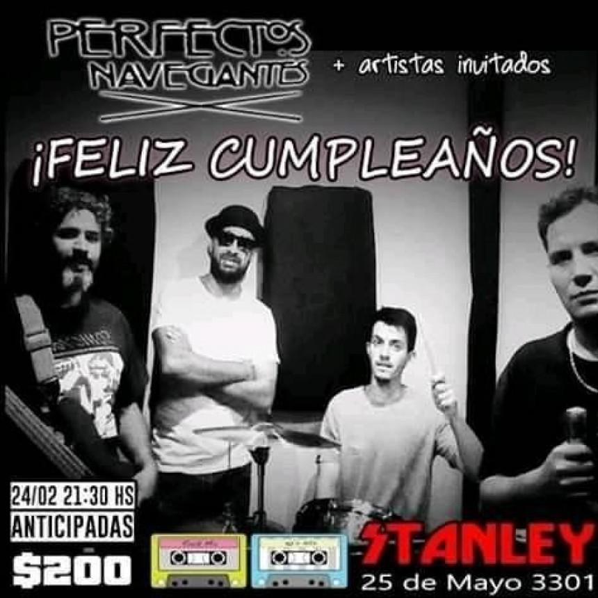 24/2 - PERFECTOS NAVEGANTES de festejo en Stanley
