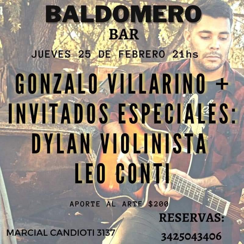 25/2 - Gonzalo Villarino en Baldomero