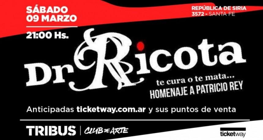 9/3 - Dr Ricota │ Tribus Club de Arte
