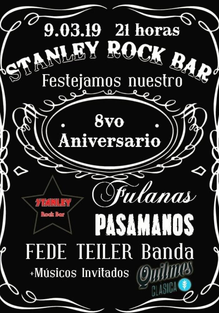 9/3 - CUMPLE DE STANLEY ROCK BAR