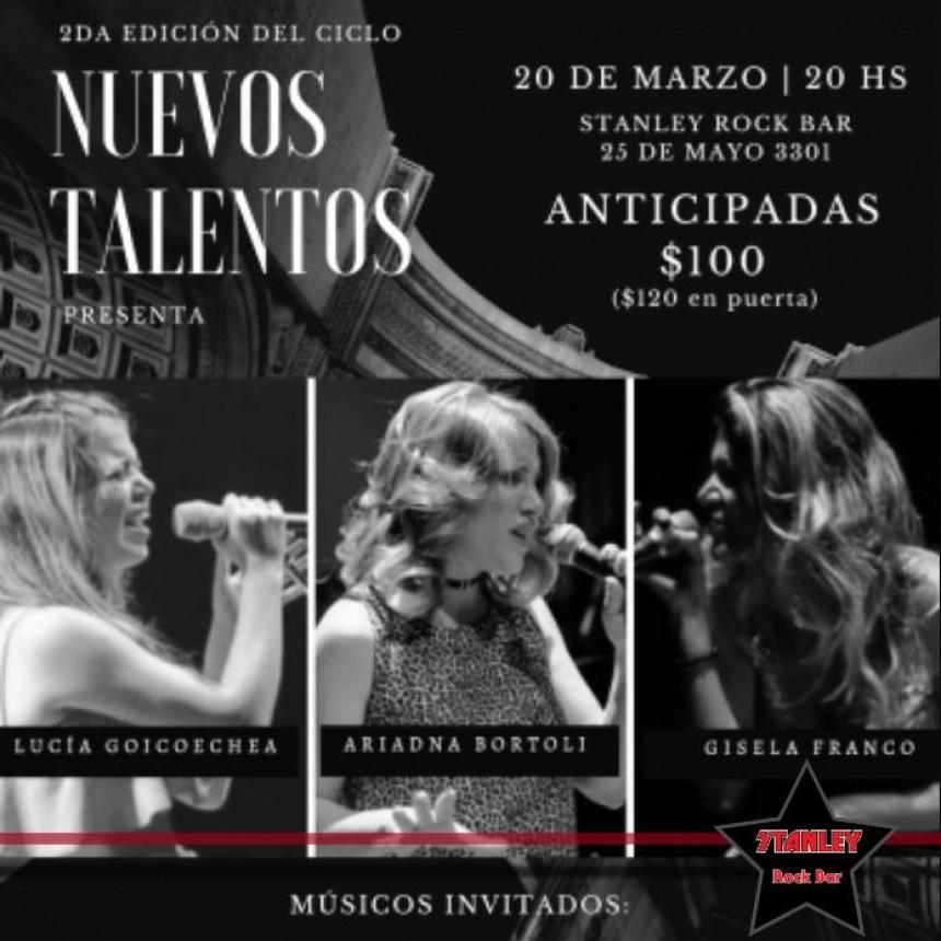 20/3 - Nuevos Talentos - LUCIA - ARIADNA - GISELA