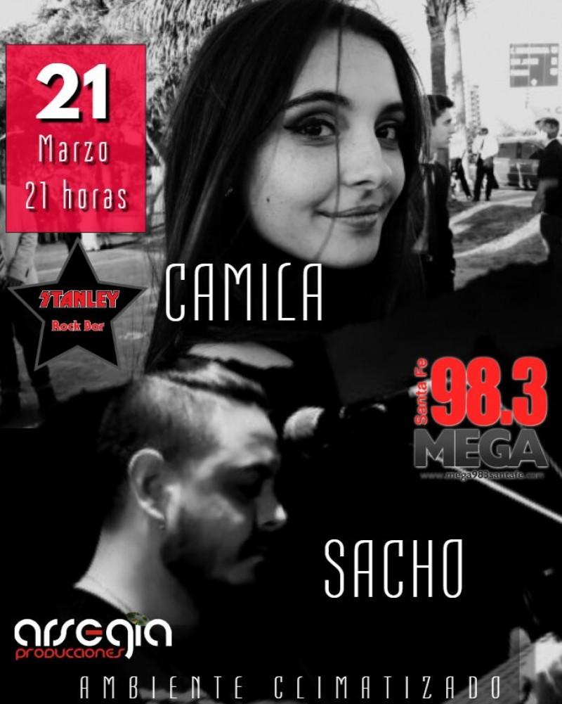 21/3 - CAMILA - SACHO en Stanley Rock Bar