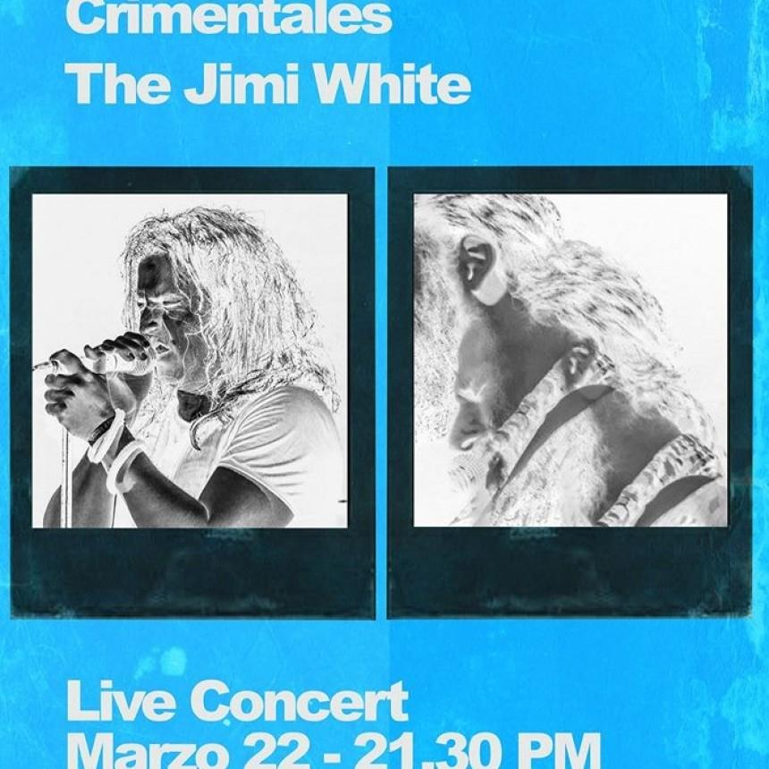 22/3 - CRIMENTALES - JIMI WHITE vivo en STANLEY ROCK BAR