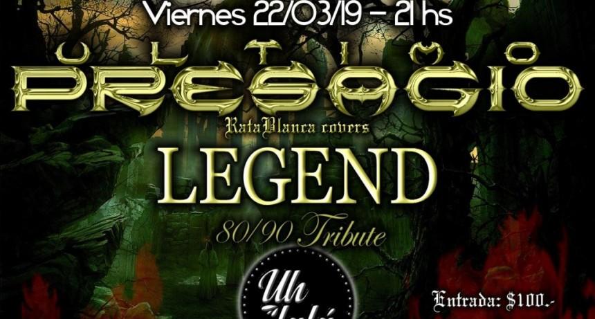 22/3 - Ultimo Presagio. Tributo a Rata Blanca & Legend ´80 y ´90