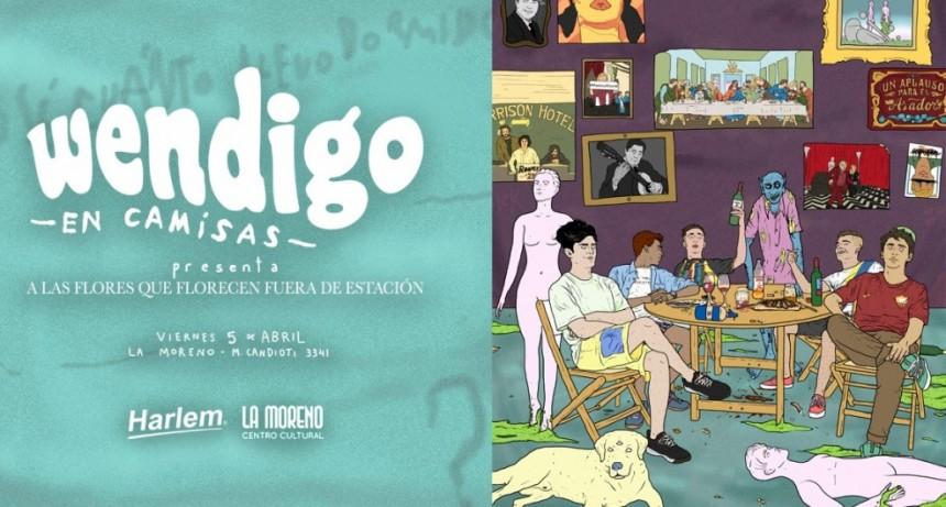 5/4 - Wendigo en Camisas presenta su disco