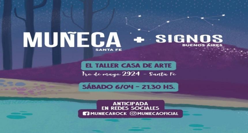 6/4 - Muñeca + Signos en El Taller