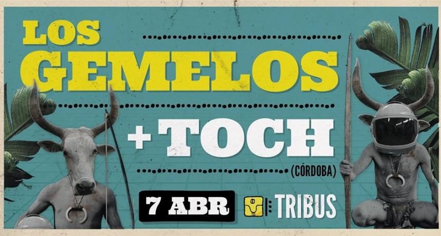 7/4 - Los Gemelos + Toch | Tribus Club de Arte