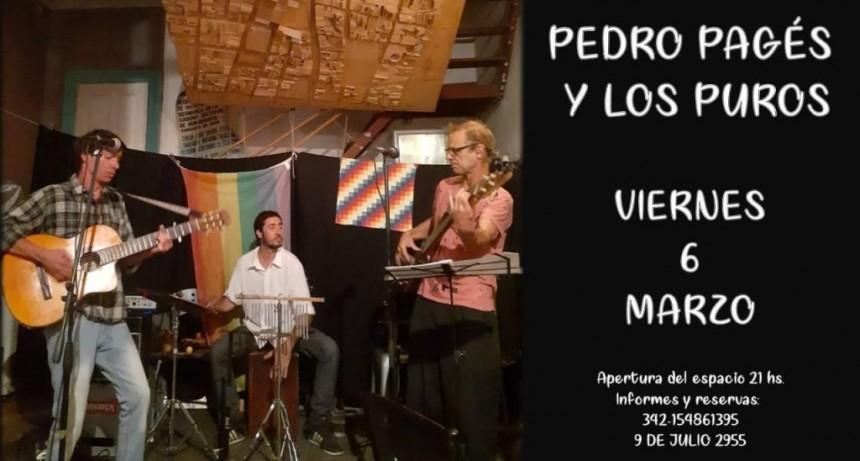 6/3 - Pedro Pagés & Los Puros en El Solar de las Artes