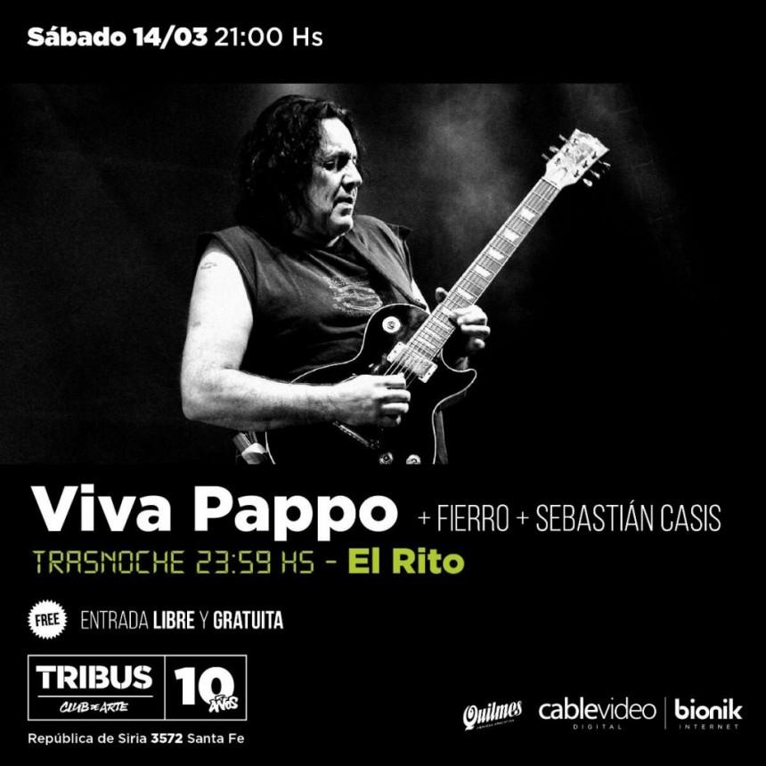 14/3 - Rock en sábado en Tribus