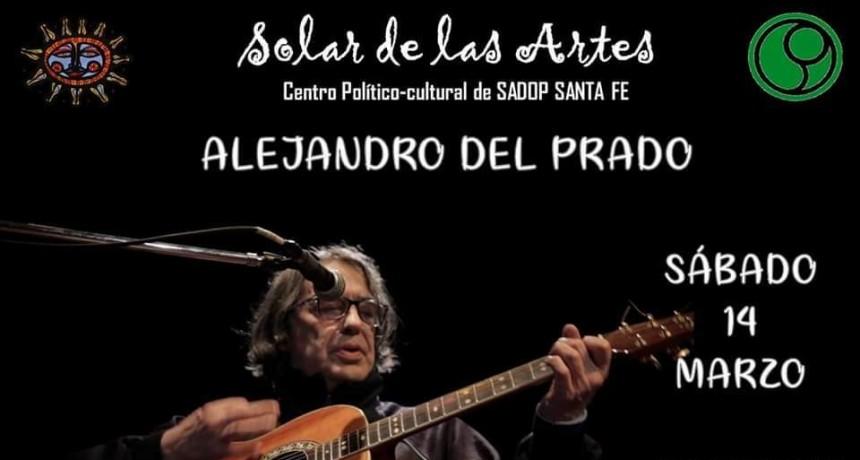 14/3 - ALEJANDRO DEL PRADO en EL SOLAR DE LAS ARTES