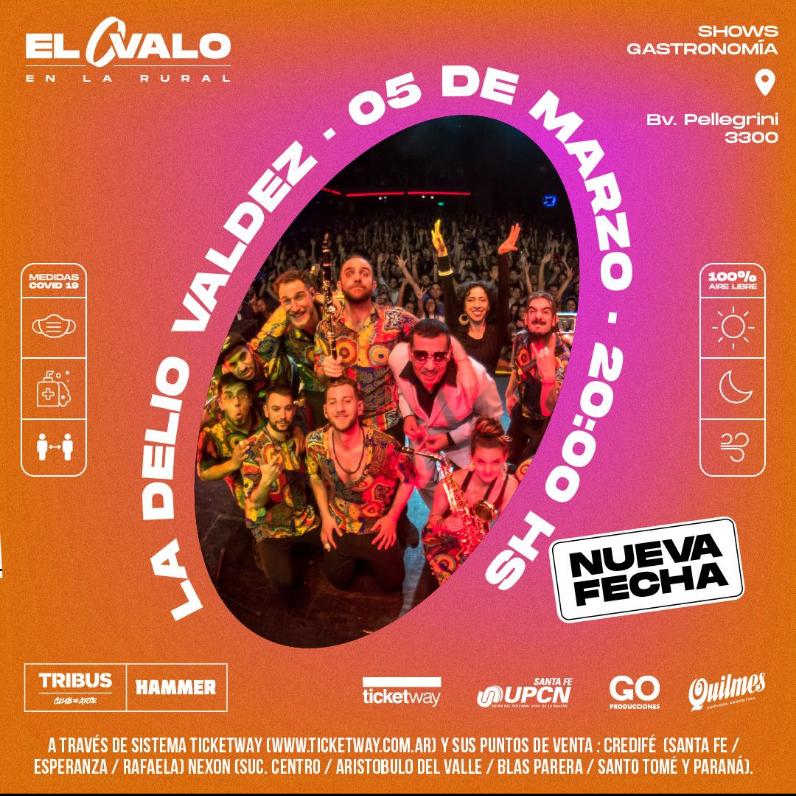 5/3 - La Delio Valdez en El Óvalo