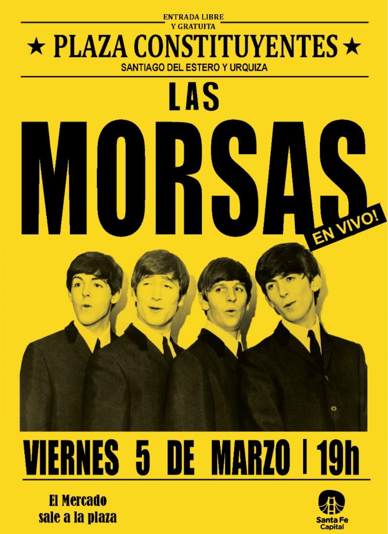 5/3 - Las Morsas en la Plaza Constituyente