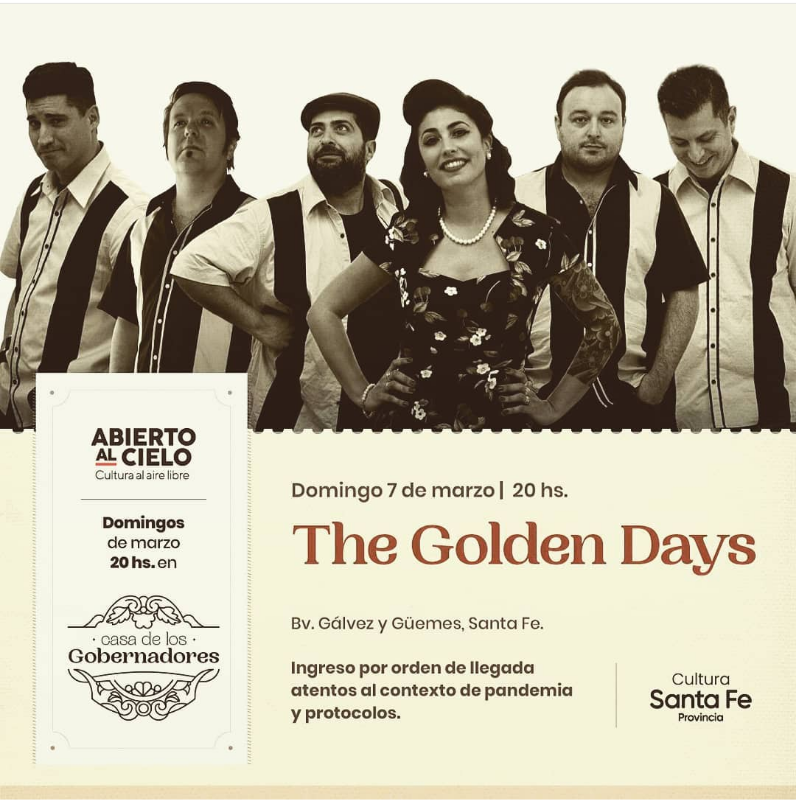 7/3 - The Golden Days en domingo