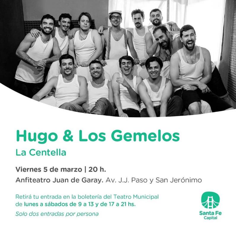 5/3 - Hugo & Los Gemelos en el Anfiteatro