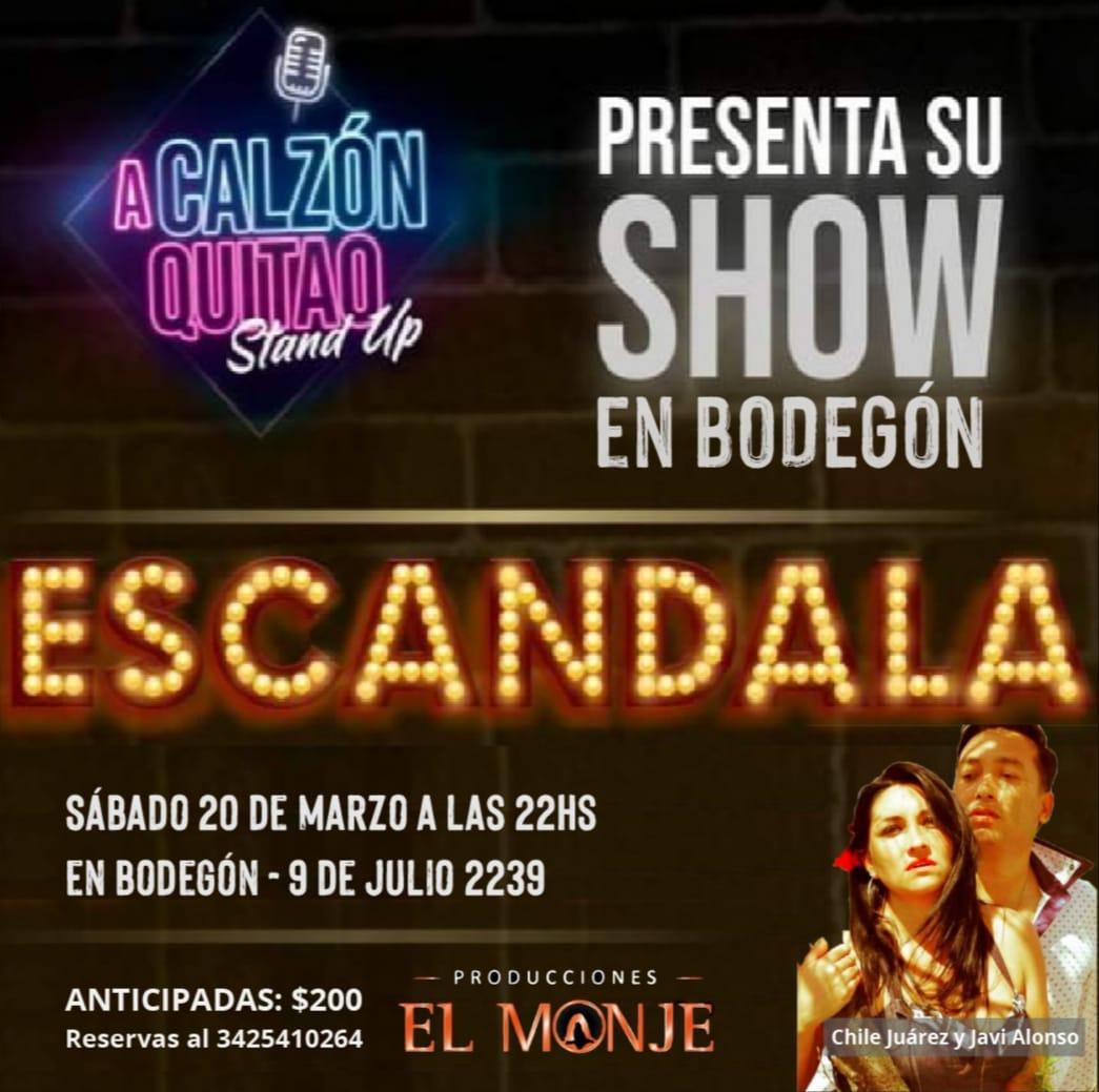 20/3 - ESCANDALA en El Bodegón